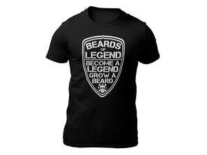 Become a Legend Shield Short Sleeve T-shirt