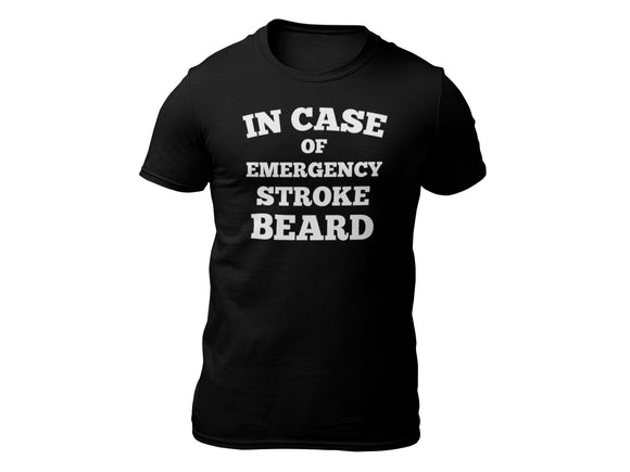 Stroke Beard Short Sleeve T-shirt