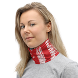 Red Flag Neck Gaiter