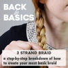 Back to Basics: 3 Strand Braid