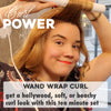 Curl Power: Wand Wrap Curl