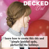 Decked Out - Holiday Hairstyles: Braided Updo