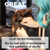 Great Lengths: Clip-In Extensions - the ins and outs of maintenance and application of clip-in extensions