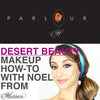 Halloween How-To: Desert Beauty Make-Up