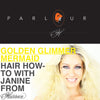 Halloween How-To: Golden Glimmer Mermaid Hair