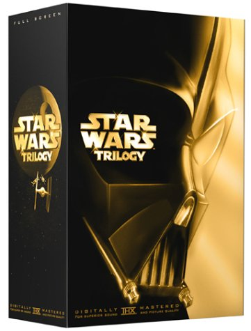 Star Wars Trilogy (A New Hope / The Empire Strikes Back / Return of the Jedi) (Full Screen Edition w