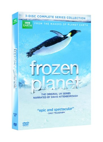 Frozen Planet: The Complete Series (David Attenborough-Narrated Version)  DVD - GoodFlix