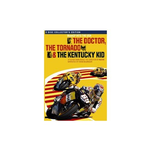 The Doctor The Tornado and the Kentucky Kid 2 Disc Collector Edition Rossi Hayden MotoGP DVD
