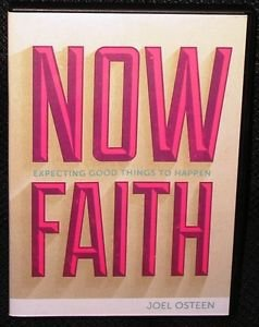 Joel Osteen -- NOW FAITH Expecting Good Things To Happen -- 2 Audio CD & DVD