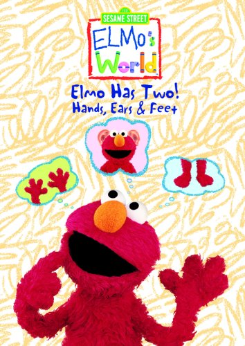 Elmo's World: Elmo Has Two! Hands, Ears & Feet  DVD - GoodFlix