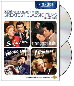 TCM Greatest Classic Films Collection: Hitchcock Thrillers (Suspicion / Strangers on a Train / The W