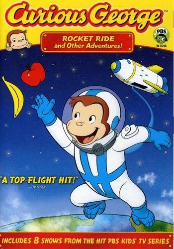 Curious George - Rocket Ride and Other Adventures  DVD - GoodFlix