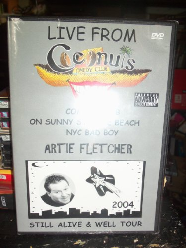 Live From Cocunuts Comedy Club on Sunny St. Pete Beach BY ARTIE FLETCHER