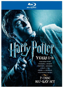 Harry Potter Years 1-6 Giftset [Blu-ray]  Blu-ray - GoodFlix