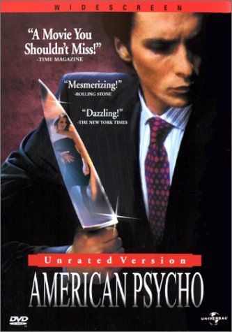 American Psycho (Unrated Version)  DVD - GoodFlix