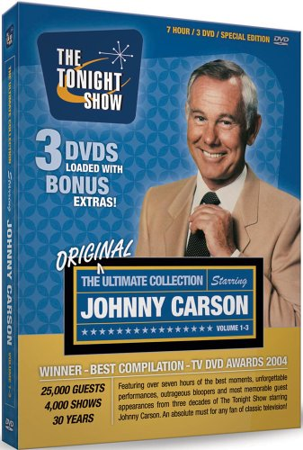 The Ultimate Johnny Carson Collection - His Favorite Moments From The Tonight Show (Vols. 1-3) (1962