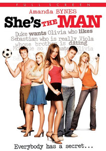 SHE'S THE MAN / (FULL COLL SPEC SUB AC3 DOL CHK) - SHE'S THE MAN / (FULL COLL SPEC SUB AC3 DOL CHK)