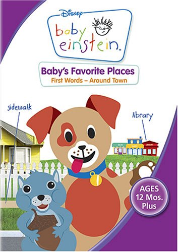 Baby Einstein - Baby's Favorite Places - First Words Around Town  DVD - GoodFlix