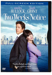 Two Weeks Notice (Full-Screen Edition) (Snap Case)  DVD - GoodFlix