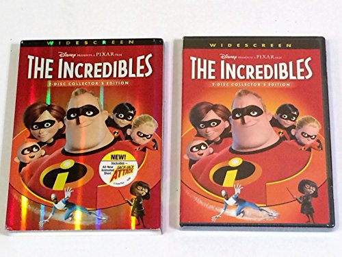 The Incredibles(DVD / WS / 2 DISC) Craig T. Nelson, Samuel L. Jackson, Holly Hunter, Jason Lee, Bret