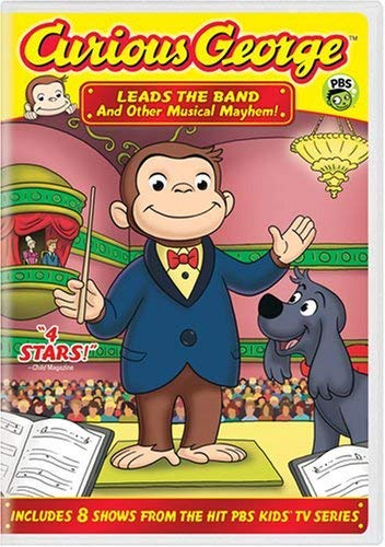 Curious George: Leads the Band and Other Musical Mayhem!  DVD - GoodFlix