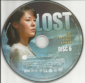Lost Season 1 Disc 6 Replacement Disc!  DVD - GoodFlix