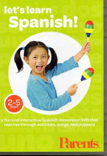 Let's Learn Spanish, A Fun and Interactive Spanish Immersion DVD That Teaches Through Activities, So