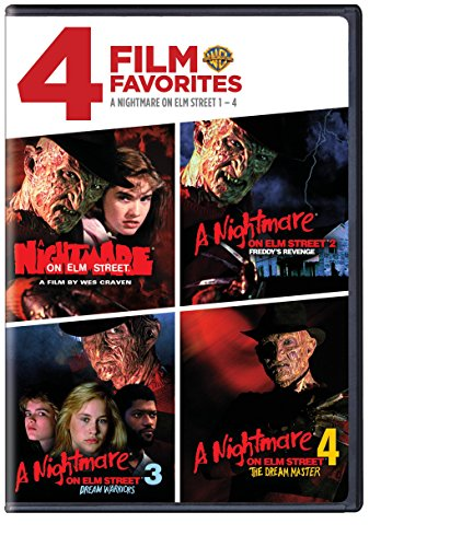 4 Film Favorites: Nightmare on Elm Street 1-4 (A Nightmare on Elm Street, Nightmare on Elm Street 2: