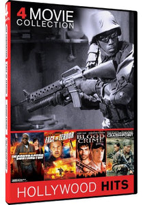 The Contractor/Face of Terror/Blood Crime/The Hunt for Eagle One - 4-pack