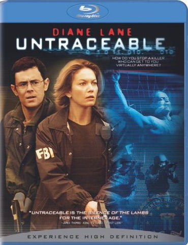 Untraceable (+ BD Live) [Blu-ray]  Blu-ray - GoodFlix