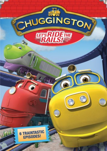 Chuggington: Let's Ride The Rails  DVD - GoodFlix
