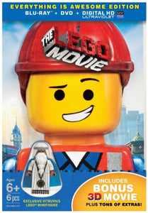 Lego Movie, The (EVERYTHING IS AWESOME EDITION) (Blu-ray + DVD + UltraViolet Combo Pack + Exclusive