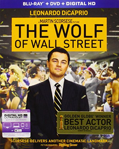 The Wolf of Wall Street (Blu-ray + DVD + Digital HD)  Blu-ray - GoodFlix