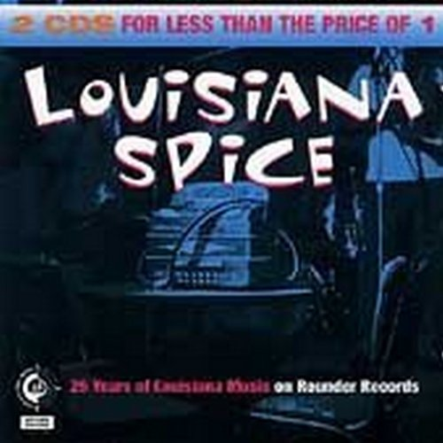 Louisiana Spice: 25 Years of Louisiana Music on Rounder Records  Audio CD - GoodFlix