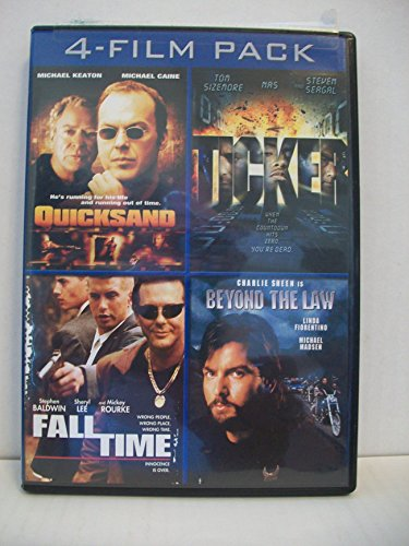 4 Film Pack: Quicksand, Ticker, Fall Time, & Beyond The Law