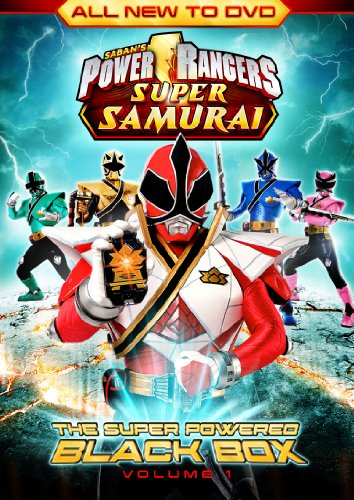 Power Rangers Super Samurai: The Super Powered Black Box Vol. 1 [DVD]