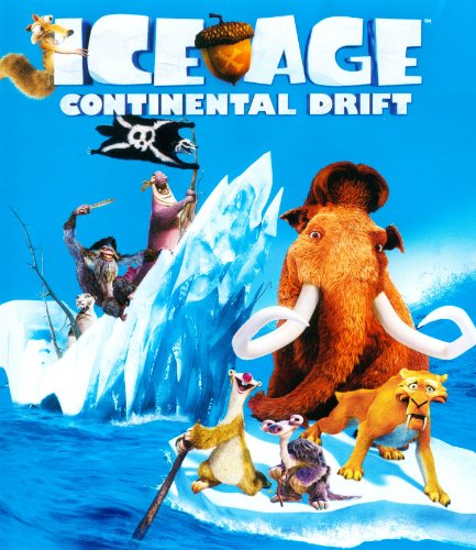 Ice Age Continental Drift (Blu-ray Only) [Blu-ray] [2012]