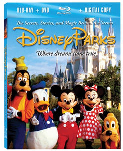 Disney Parks: The Secrets, Stories and Magic Behind the Scenes [Blu-ray plus DVD and Digital Copy]  Blu-ray - GoodFlix