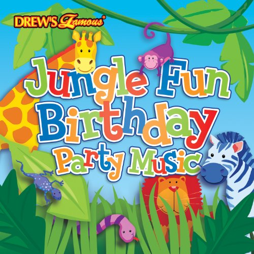 Drew's Famous Jungle Fun Birthday Party Music CD