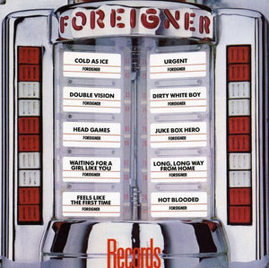 FOREIGNER - Records (remastered)