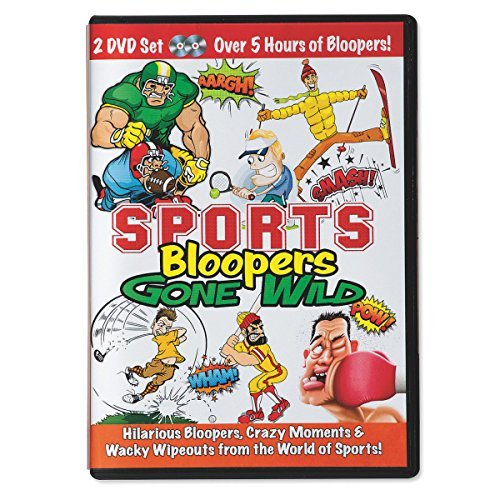 Sports Bloopers Gone Wild DVD - Crazy Fights, Hilarious Falls, Wacky Crashes
