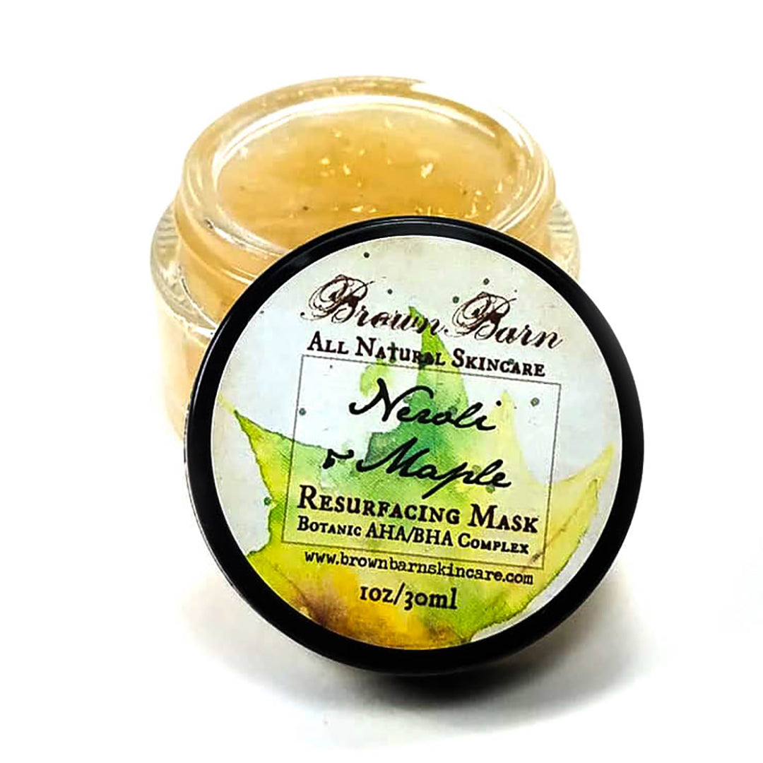 Neroli & Maple AHA/BHA Resurfacing Mask: One Product used Multiple Ways