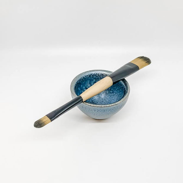 Facial Mixing Bowl and Brush