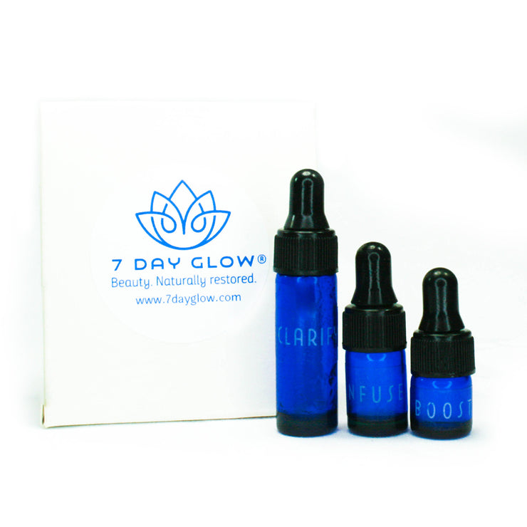 7 Day Glow Get Glowing Sampler Set