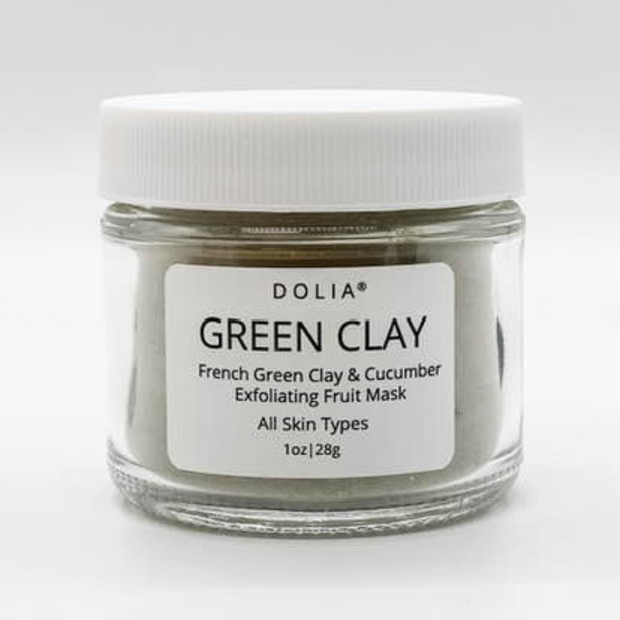 Dolia Green Clay Exfoliating Mask