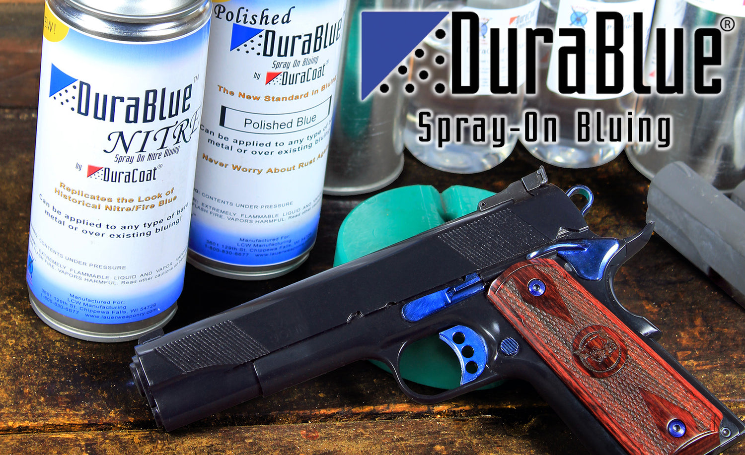 DuraBlue Spray-On Bluing by DuraCoat