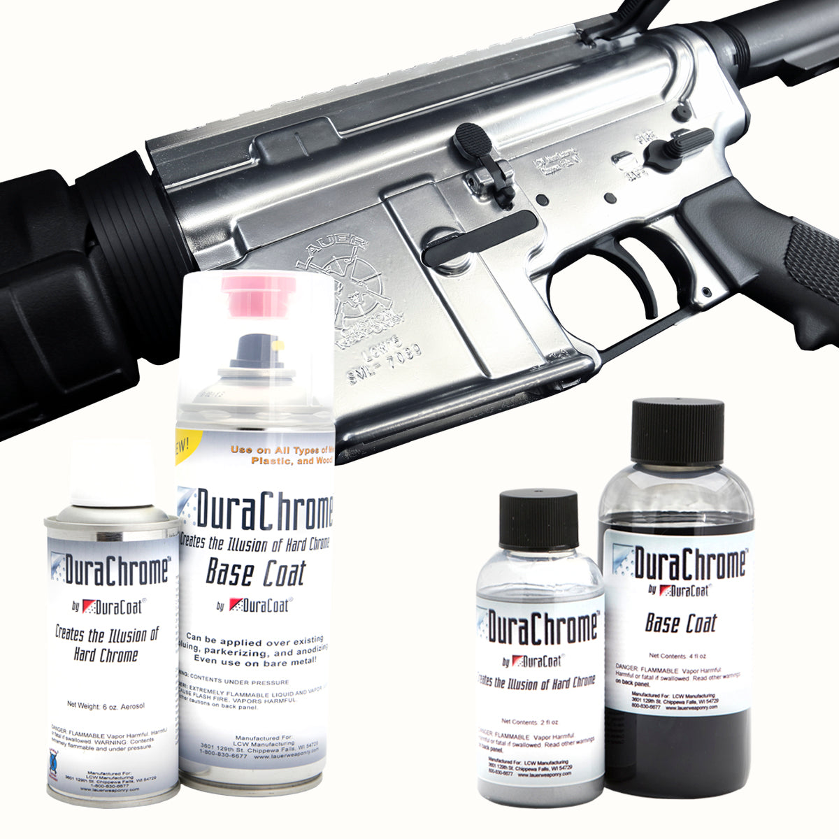 DuraChrome™ – DuraCoat® Firearm Finishes by Lauer Custom Weaponry