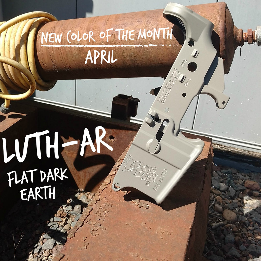 Luth-AR Flat Dark Earth - APRIL New Color of the Month