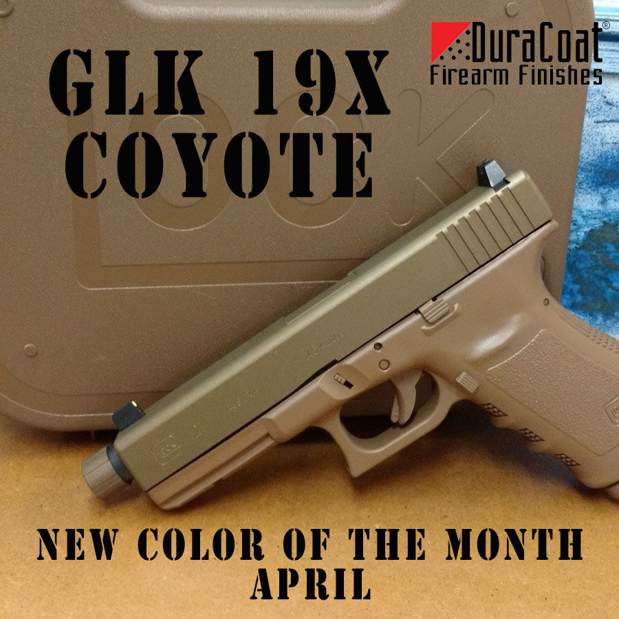 GLK 19X Coyote - APRIL 2019 New Color of the Month