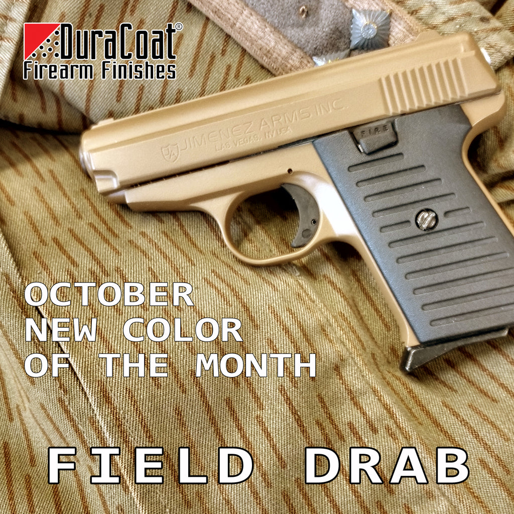 Field Drab - OCTOBER 2019 New Color of the Month
